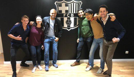 バルセロナの企業訪問!FC Barcelonaにも行ってみた!今年から始まったSafari Barcelonaでみるバルセロナでの就職事情