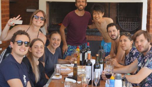 アルゼンチンはブエノス・アイレス! MBA同期の家でASADO PARTY!! アルゼンチンと日本の文化を比較してみる